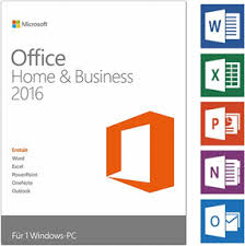 Microsoft Office Home and Business 2016 Win 7/8/10 32/64 Bits Spanish DVD BOX.