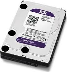 Disco rigido interno 2TB para almacenamiento de Video Vigilancia Caviar Purple (WD20PURX)